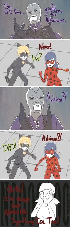 miraculous | Tumblr || sugar honey iced tea... I see what you did there xD