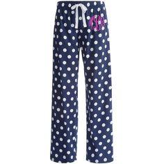 Monogrammed Pajamas - Monogrammed Pajama Pants - Personalized Pajamas by PremiereEmbroidery on Etsy https://www.etsy.com/listing/169682762/monogrammed-pajamas-monogrammed-pajama