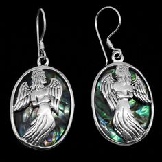 Bali Legacy Collection Abalone Shell Sterling Silver Earrings | drop | earrings | jewelry | online-store | Shop LC