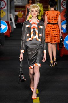 Moschino 'Clothed for construction'.