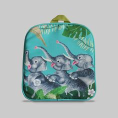Excited to share the latest addition to my #etsy shop: Rybka - Small Backpack 2-3 Years, Kids Backpack, Toddler Bag, Preschool Kids, Playgroup bag, Elephant http://etsy.me/2CFDc1o #bagsandpurses #backpack #green #kids #toddlerbag #preschoolkids #playgroupbag #gift #bir