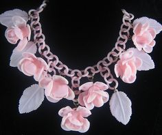 1930s Celluloid Necklace