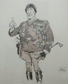 Mort Drucker, another great MAD Magazine cartoonist.