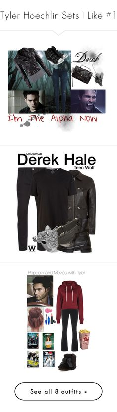 """Tyler Hoechlin Sets I Like #1"" by kelseystan97 ❤ liked on Polyvore featuring T By Alexander Wang, H&M, Bardot, Ash, Proenza Schouler, Ugo Cacciatori, teen wolf, derek hale, Paul Smith and Acne Studios"