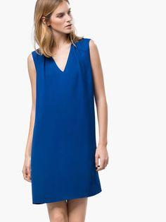 VESTIDO PLIEGUES - Vestidos & Faldas - WOMEN - Massimo Dutti SS 2015