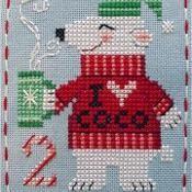 BBP Advent Animal #2 Peter Polar Bear - via @Craftsy
