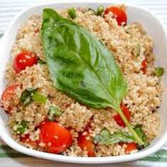 Tomato, Basil, and Couscous Salad