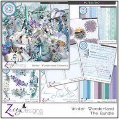 Digital Art :: Bundled Deals :: Winter Wonderland - Complete Bundle