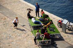 Modular Parks On Wheels Pop Up In Azerbaijan's Capital — The Pop-Up City