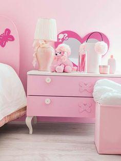 Composiciones para cuarto de niña Barbie Atena 120. Muebles de servicio, camas, armarios. #dormitorio para #niñas de #Barbie - Doimo Cityline Encuentralo en Pasión D Casa Costa Rica https://www.facebook.com/pasionDcasa