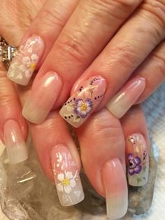 Something soft and simple. Girly Stuff, Girly Things, Gel Nails, Manicure, Nail Technician, Nails Magazine, Nail Art Designs, Hair Beauty, Simple