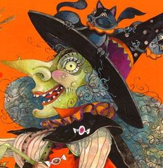 Halloween Witch: David Galchutt  (704×725)