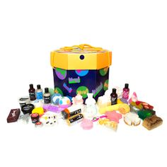 basically the lush store in a box