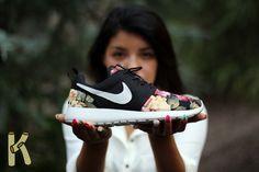 """Nike Roshe Run """"Supremo"""" Customs"""