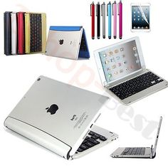 Aluminum Magnetic Bluetooth Wireless Keyboard Holder Case Cover for iPad Mini US | Add to Watch list