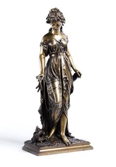 Statues, Pewter, Objects, Antiques, Gold, Sculptures, Fotografia, Baseboards, Three Little Birds