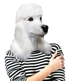 Patty the Poodle Mask #zulilyfinds