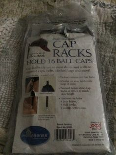 CapRack 16 Baseball Cap Hat Holder Rack Organizer Storage Door Closet Hanger NEW in Home & Garden, Household Supplies & Cleaning, Home Organization | eBay