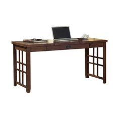 kathy ireland Home by Martin Mission Pasadena Writing Desk | from hayneedle.com