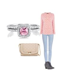 Berricle Jewelry Pink Collection Style Guide #Berricle #Pink #Jewelry #BreastCancerAwareness #Rings