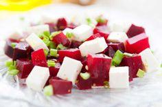 Salad recipies: red beet and feta salad/punajuuri-fetasalaatti