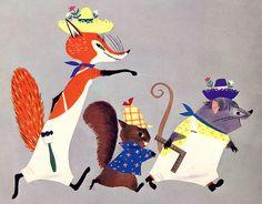 A Big Golden Book, 1950. By Rachel Learnard | Illustrators: Alice and Martin Provensen.l