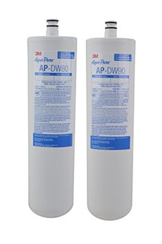 AQUAPURE-AP-DW80-90 Features: -Set includes 2 filter. -Fits 3M water filter systems. -Reduces chlorine taste, odor, cysts, lead, MTBE, sediment, and #VOC's. -Gen...