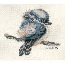 HIDING PUPPY COUNTED CROSS STITCH KIT 14 COUNT AIDA 21x30CM