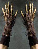 Grim Reaper (Death) Survivor Super Action Gloves Halloween Costume Accessory