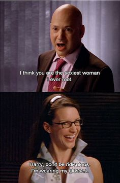 I always thought this line was funny.