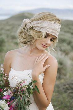 A gorgeous headwrap.