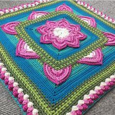 """In Bloom CAL part 5 is now up on my blog (link in profile) and in the FB-group """"Mysterievirkning / CAL med Favoritgarner.se ✨ This is part 1-5 by @virkvisa in her lovely colour palette """"Rose garden""""  . In Bloom CAL del 5 finns nu på min blog och i FB-gruppen """"Mysterievirkning / CAL med Favoritgarner.se ✨Detta är del 1-5 av @virkvisa i hennes fantastiskt fina färgställning """"Rose garden"""" Alla garnpaket finns hos @favoritgarner  . . #scheepjescatona #crochetpattern #virkmönster #croche..."""