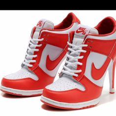 bafd6839060a Discount Nike Dunk Heels Low Be True To Your School University Red White