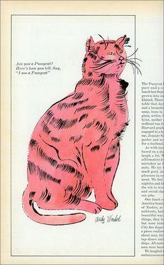 Warhol Pussycat by MewDeep on Flickr.