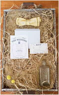 Home on the Prairie Inspired Shoot by Mary Meghan Photography (invitation stationery invitations) - Lover.ly