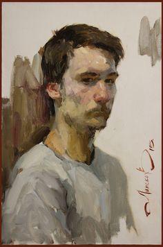 Oil portraits on Behance