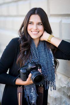 Photographer Headshots, Photography by Brittany, Decorah Iowa, Headshots with a camera