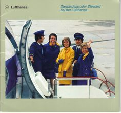 Airlines Past & Present: Lufthansa