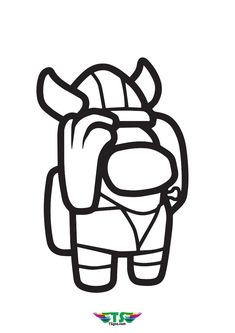 Best Among Us Character Coloring Page Coloring Pages Color Print Buttons