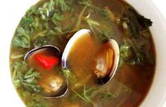 Korean Mugwort Soup And Mugwort Rice Cake Recipe Video by Maangchi | iFood.tv