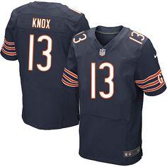 Chicago Bears  13 Johnny Knox Elite Blue Men NFL Stitched Jersey 0278d4f4c