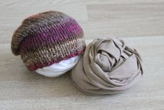 ON SALE Newborn wrap and slouchy set by MoonlightLittleKnits