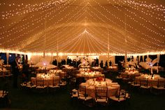 possible tent lighting -Loane Bros