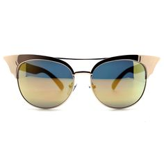 Quay Australia Zig Sunglasses in Gold