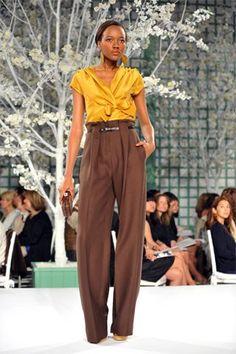 Oscar de la Renta Resort 2009 Fashion Show - Maria Fuema