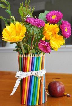 utilizando lápis de cor
