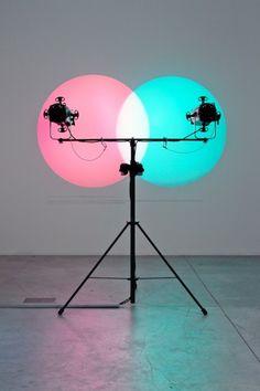 Future Light (Mak) – Amalia Pica – Venn Diagrams (Under the Spotlight), 2011 ©Amalia Pica:Photo Kiki Triantafyllou – Courtesy of Herald St, London; Stigter Van Doesburg, Amsterdam; and Marc Foxx, Los Angeles
