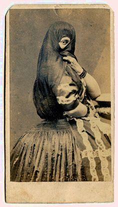 soyouthinkyoucansee tumblr  Felix Bonfils - Carte de visite, circa 1875
