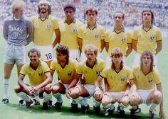 Seleção Brasileira de 1986 World Cup Teams, Soccer World, World Football, Fifa World Cup, Brazil Football Team, Retro Football, Sport Football, Soccer Pro, Kids Soccer