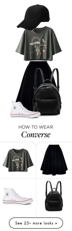 """Untitled #131"" by daria-ritivoiu on Polyvore featuring N°21, STELLA McCARTNEY and Converse"